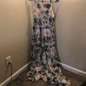 Floral prom dress